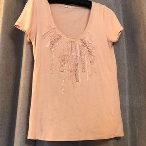 Peachy pink t shirt